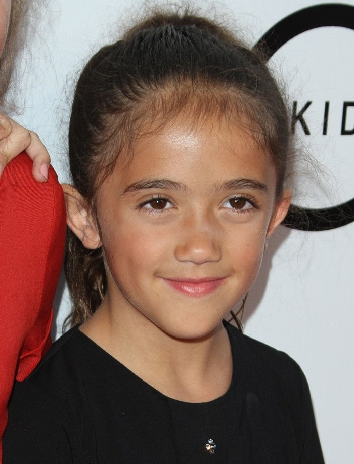 Valentina Paloma Pinault was not born with Down Syndrome