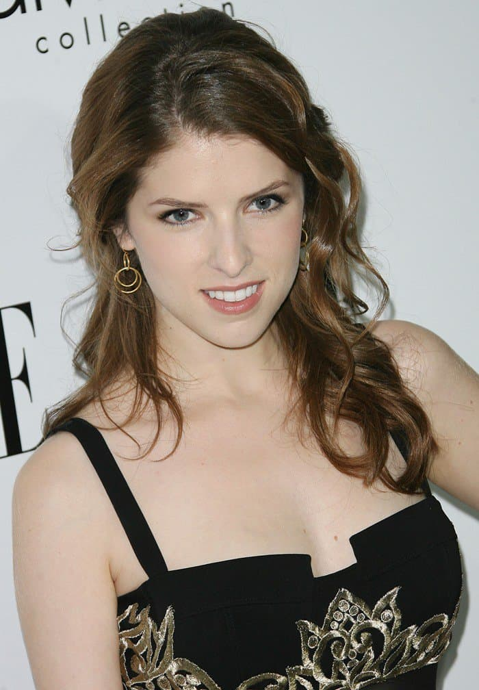 Anna Kendrick at ELLE's 19th Annual Women in Hollywood Celebration held at Four Seasons Hotel in Beverly Hills on October 15, 2012