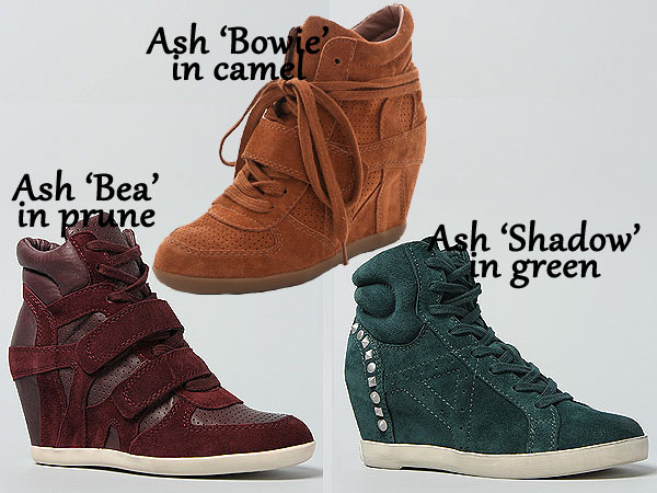 New fall colors of Ash sneakers