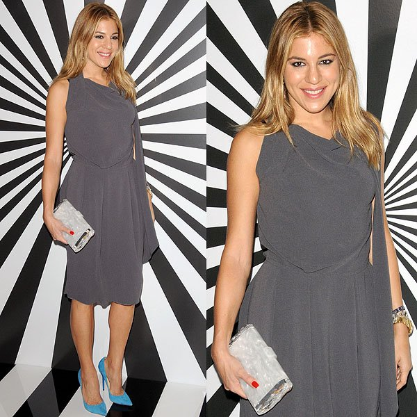 Dani Stahl attends Jimmy Choo Celebrates the Launch of the Exclusive Collaboration with Artist Rob Pruitt