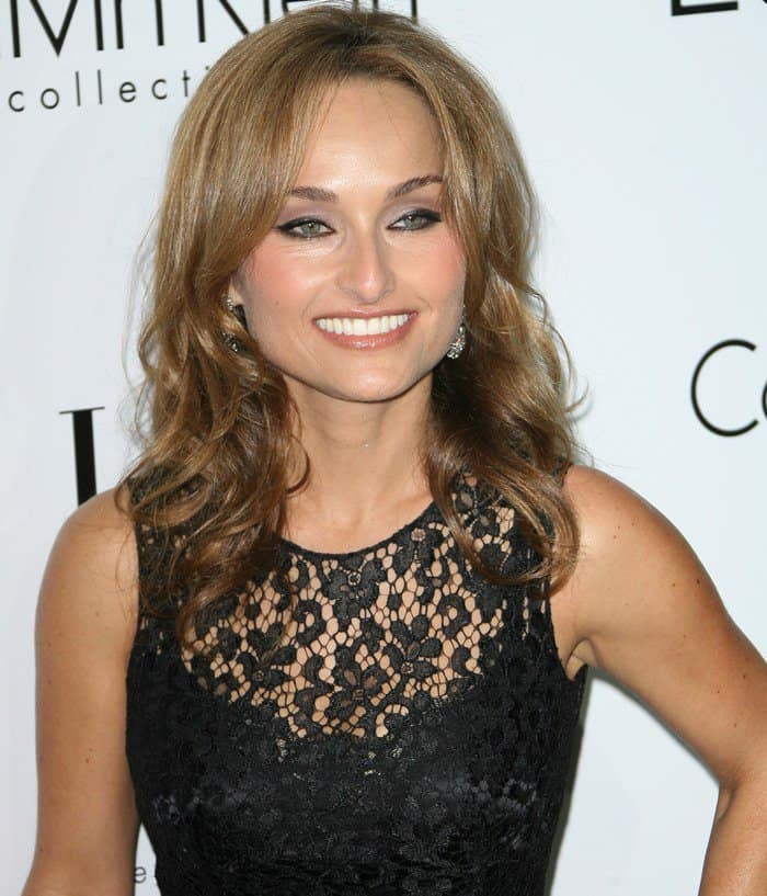 Giada De Laurentiis at ELLE's 19th Annual Women in Hollywood Celebration held at Four Seasons Hotel in Beverly Hills on October 15, 2012