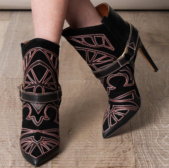 Isabel Marant Blackson Embroidered Boots