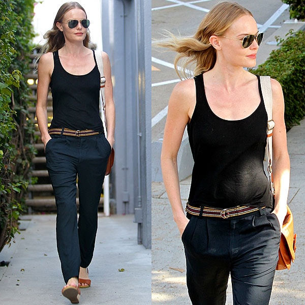 Kate Bosworth leaves a meeting in Beverly Hills, California on October 4, 2012