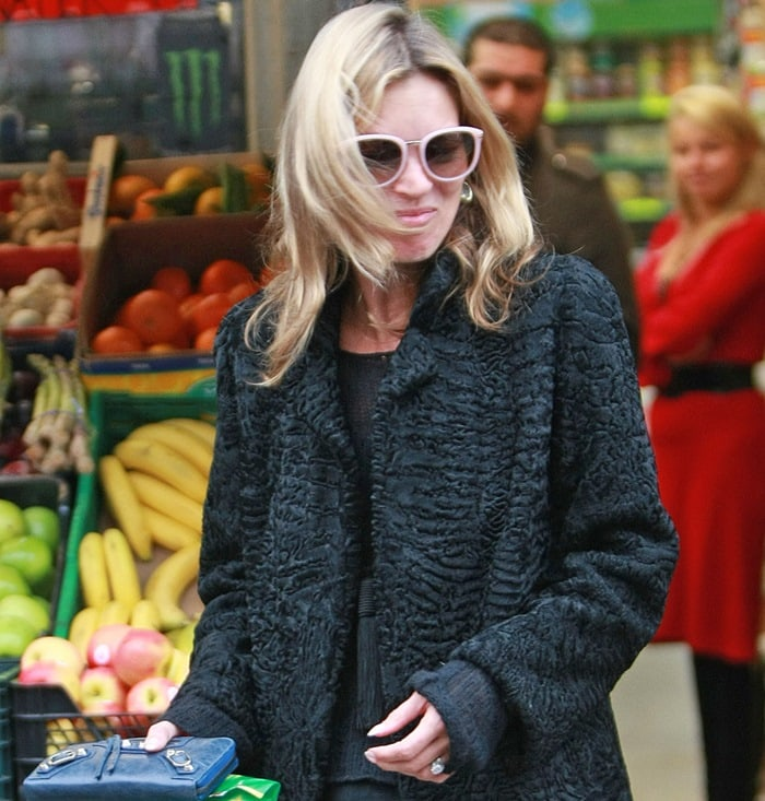 Kate Moss' Karen Walker pink Harvest sunglasses