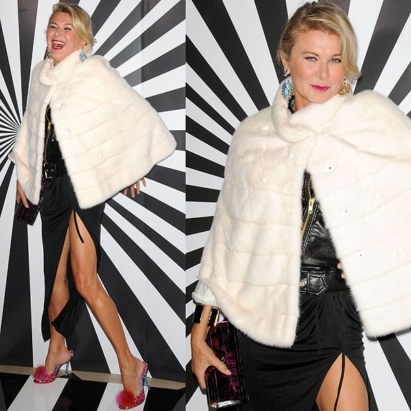 Lady Lillian Cavendish attends Jimmy Choo Celebrates the Launch of the Exclusive Collaboration with Artist Rob Pruitt