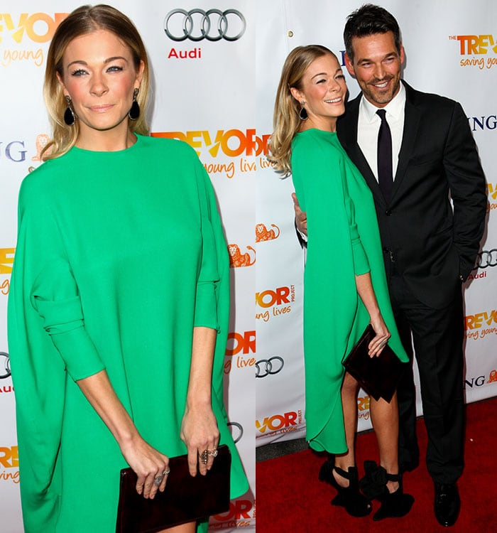 LeAnn Rimes attends the Trevor Live Project at Hollywood Palladium on December 4, 2011