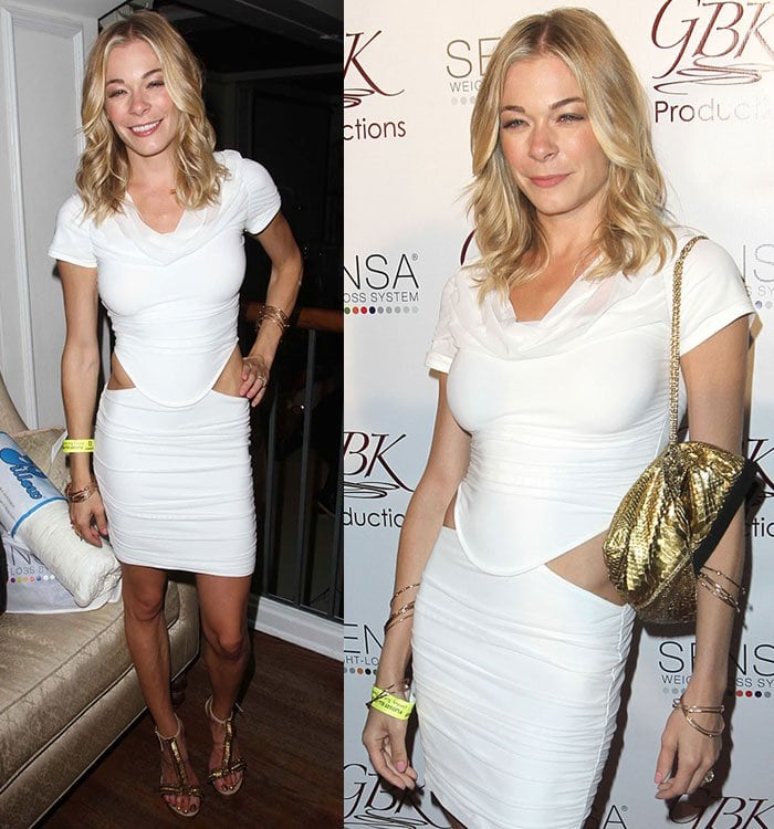LeAnn at the ESPY 2011 Pre Party held at Boulevard 3 in Hollywood on July 1, 2011