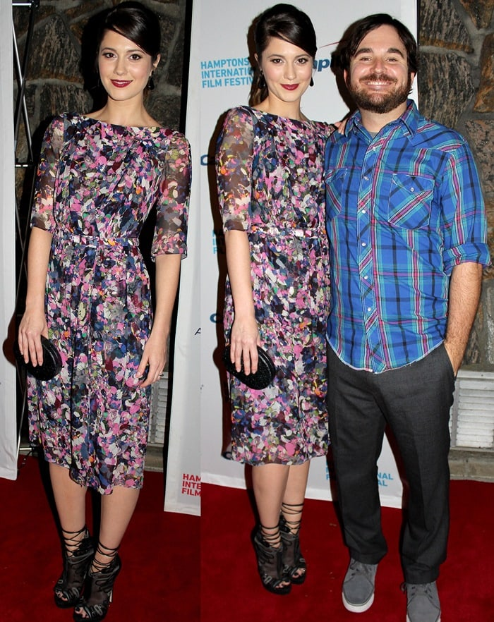 Mary Elizabeth Winstead and James Ponsoldt at the Smashed premiere during the 20th Hamptons International Film Festival in Long Island, New York, onOctober5, 2012