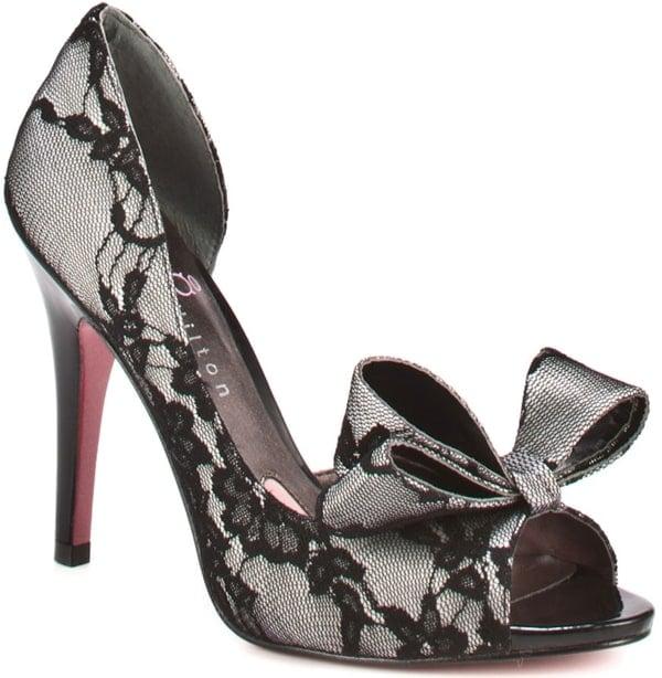 Paris Hilton Senorita Peep-Toe Heels