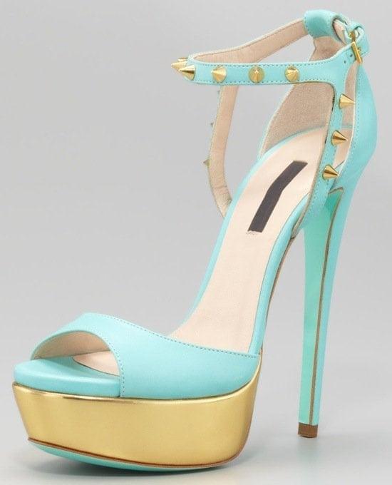 Ruthie Davis Jupiter Studded Sandals
