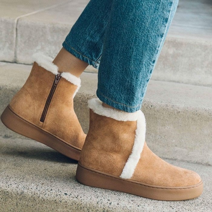 Whistler Cozy Faux Fur Lined Boots
