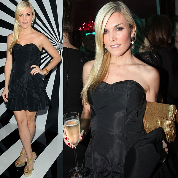 Tinsley Mortimer attends Jimmy Choo Celebrates the Launch of the Exclusive Collaboration with Artist Rob Pruitt