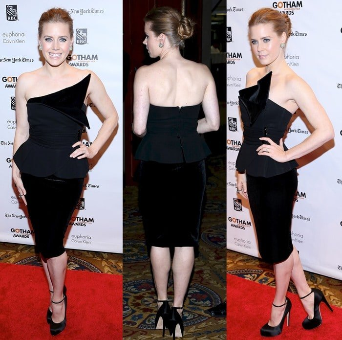 Amy Adams at the 22nd Annual Gotham Independent Film Awards held in New York City, November 26, 2012