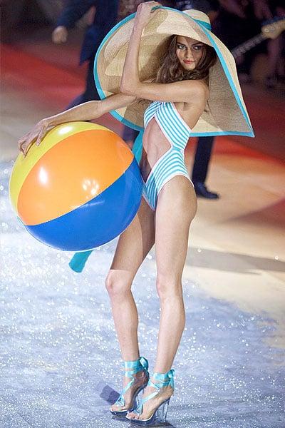 At the age of 15, Brazilian model Barbara Fialho started working as a model for São Paulo Fashion Week and Rio Fashion Week