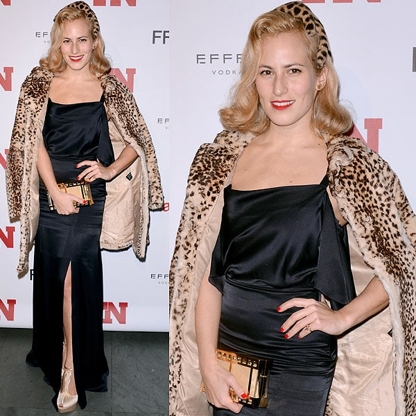 Charlotte Olympia Dellal attends the 2012 Footwear News Achievement awards at The Museum of Modern Art on November 27, 2012 in New York City