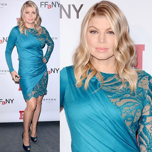 Fergie attends the 2012 Footwear News Achievement awards at The Museum of Modern Art on November 27, 2012 in New York City