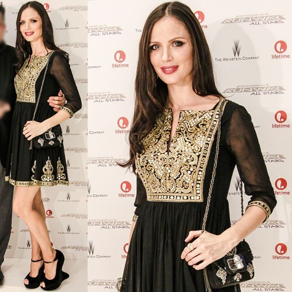 Georgina Chapman at the premiere of Project Runway: All Stars at Nine West in New York City on October 25, 2012
