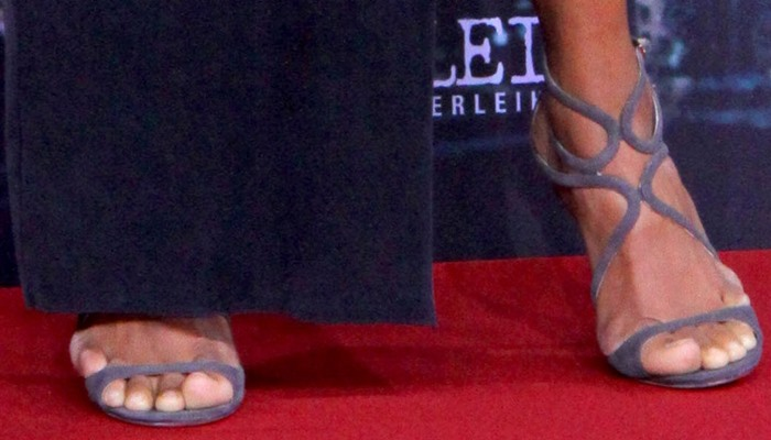Halle Berry in Jimmy Choo Lance Sandals