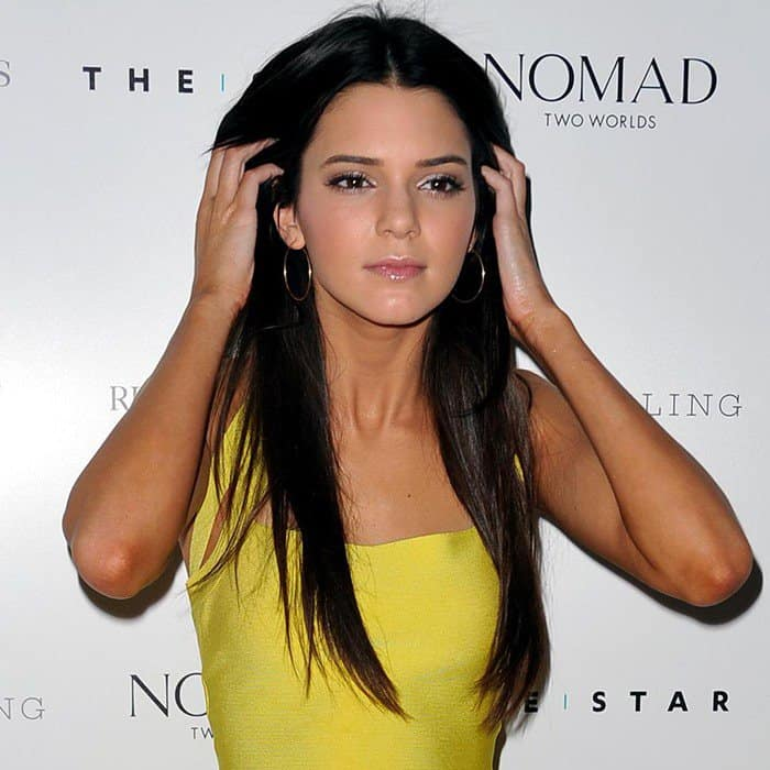 "Kendall Jenner attends the ""Nomad Two Worlds"" by Russell James book launch in Sydney, Australia on November 1, 2012"