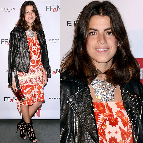 Leandra Medine attends the 2012 Footwear News Achievement awards at The Museum of Modern Art on November 27, 2012 in New York City