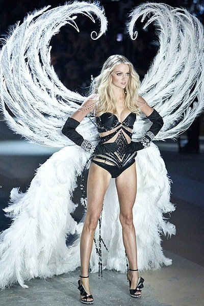 American model Lindsay Ellingson walks the runway during the Victoria's Secret 2012 Fashion Show