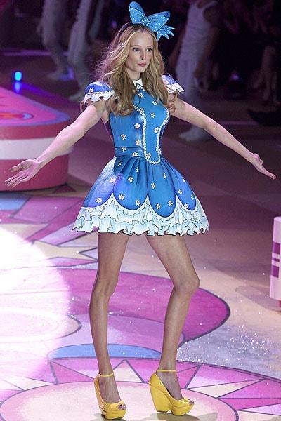 Maud Welzen walks the runway during the Victoria's Secret 2012 Fashion Show