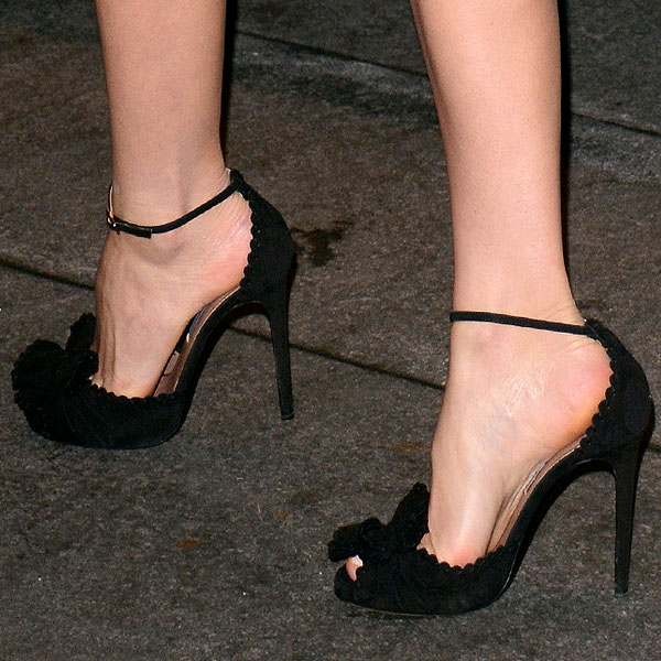 Miranda Kerr attends the 2012 Footwear News Achievement awards at The Museum of Modern Art on November 27, 2012 in New York City