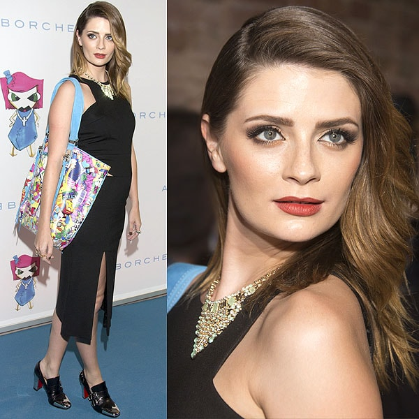 Mischa Barton at the launch of the Kin by Andre Borchers bag collection at Alte Oberpostdirektion am Stephansplatz in Hamburg, Germany on November 13, 2012
