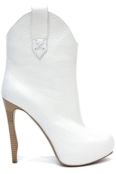 White Nicholas Kirkwood for Victoria's Secret Toy Pink boots