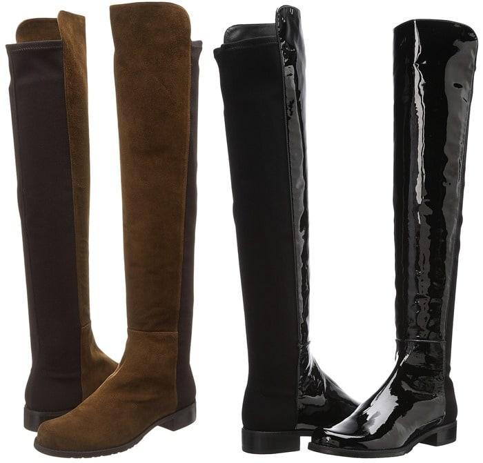 Stuart Weitzman '5050' Over the Knee Leather Boots