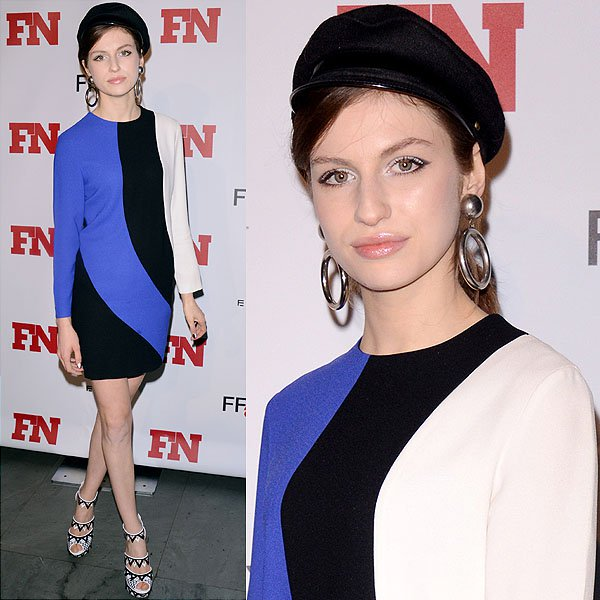Model Tali Lennox attends the 2012 Footwear News Achievement awards at The Museum of Modern Art on November 27, 2012 in New York City