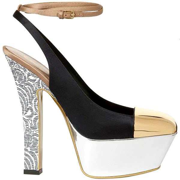 Yves Saint Laurent 'Obsession' Slingback Platform Pump