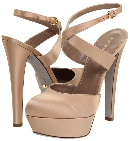 Sergio Rossi Ankle-Wrap Pumps