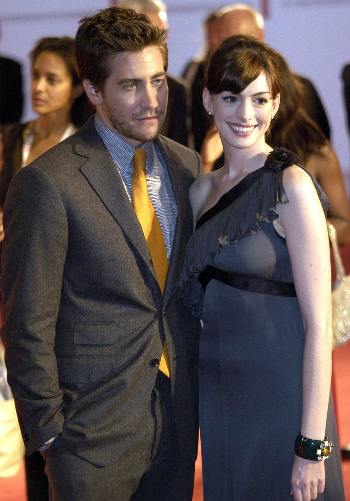 Anne Hathaway allowed Jake Gyllenhaal to touch her boobs when filming Brokeback Mountain