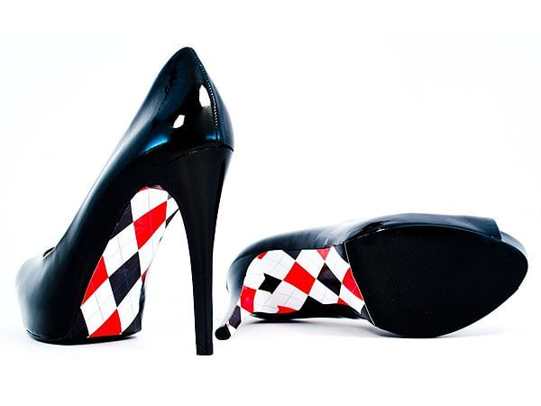 Archys has taken that further and has made these cute Archys high-heel fashion decals