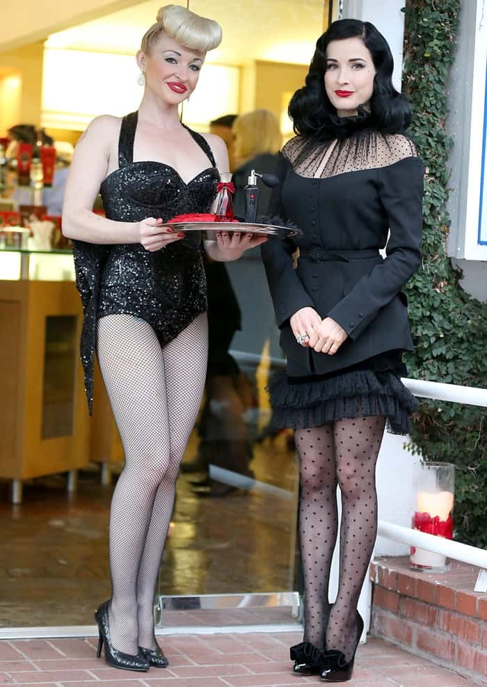 dita-von-teese-and-erica-holland