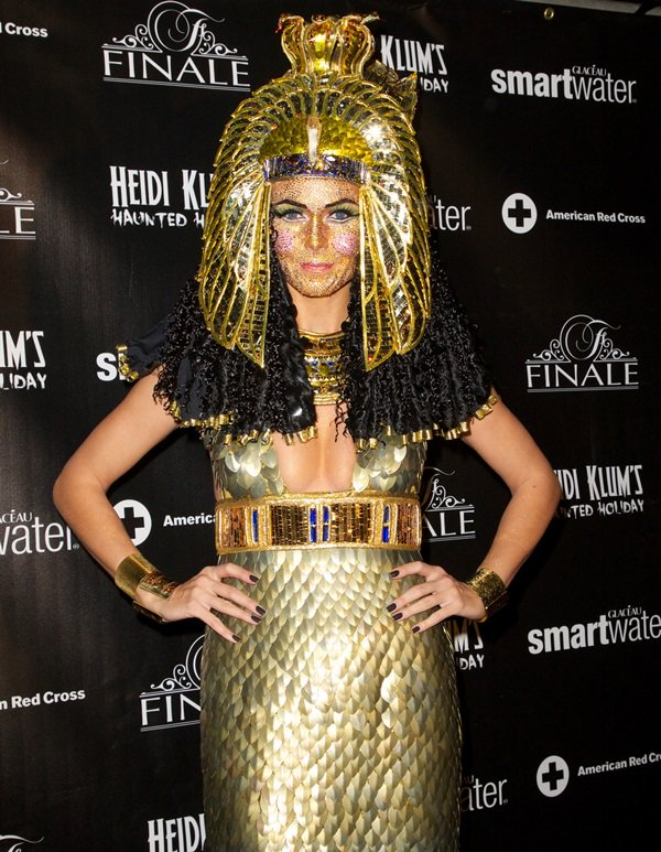 Heidi Klum's Haunted Holiday party in New York