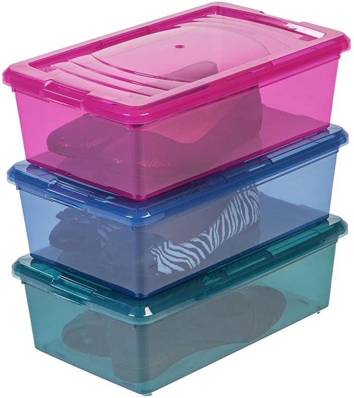 IRIS 6 Quart Modular Storage Box