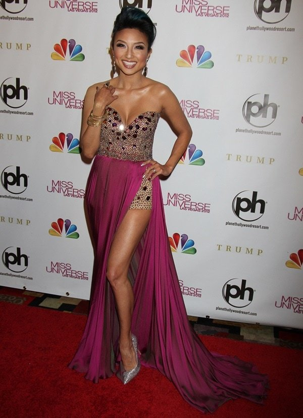 Miss Universe Las Vegas 2012 at Planet Hollywood