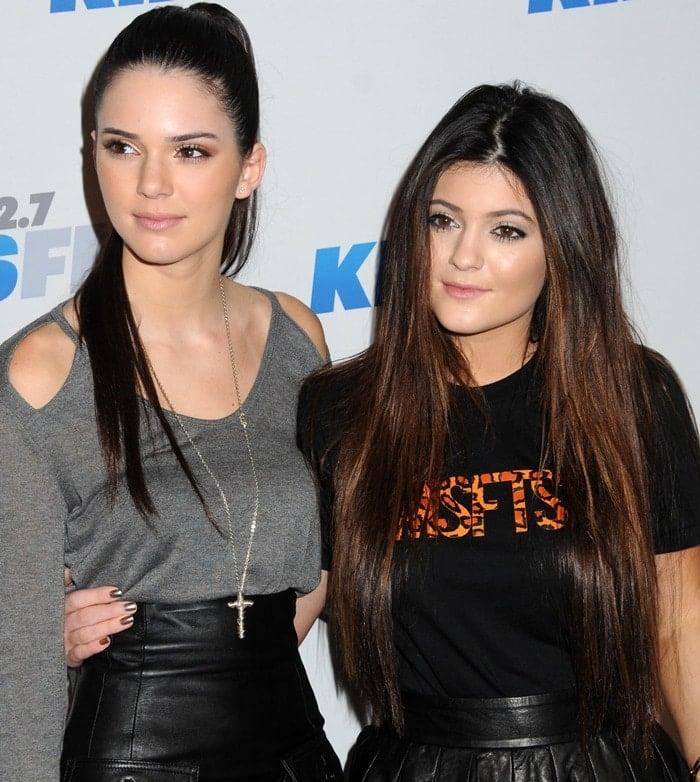 Kylie and Kendall Jenner at KIIS FM's 2012 Jingle Ball