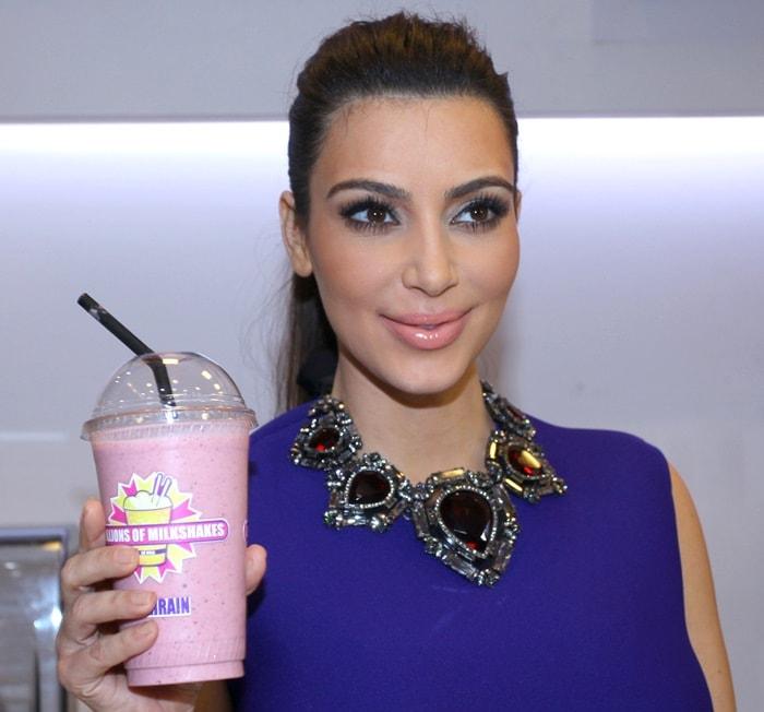 Kim Kardashian Milkshake