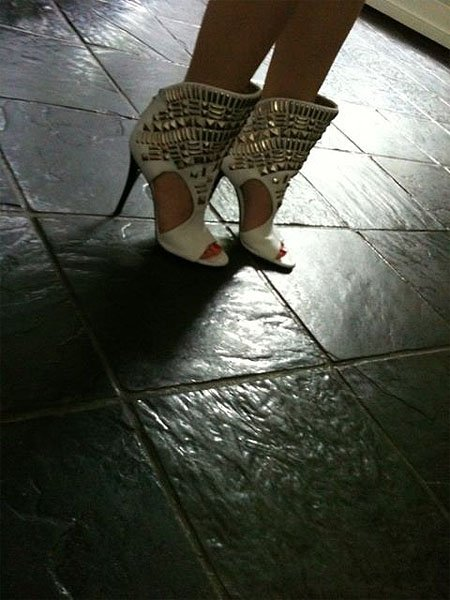 Kylie Minogue shoes 12