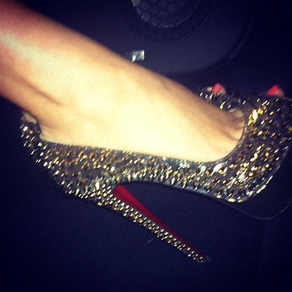 Kylie Minogue shoes 2
