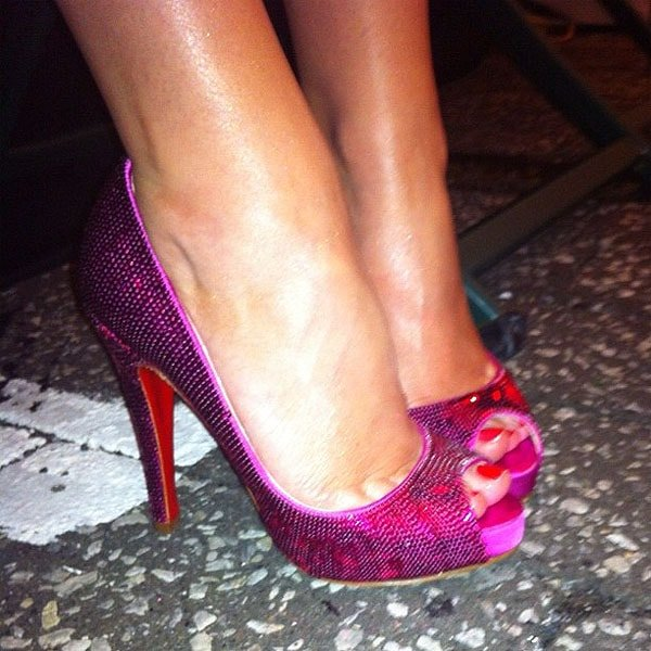 Kylie Minogue shoes 3