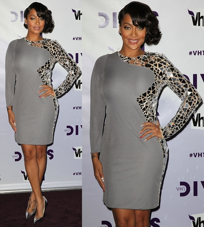 "Alani Nicole ""La La"" Anthony arrives at 'VH1 Divas' 2012 held at The Shrine Auditorium on December 16, 2012, in Los Angeles, California"