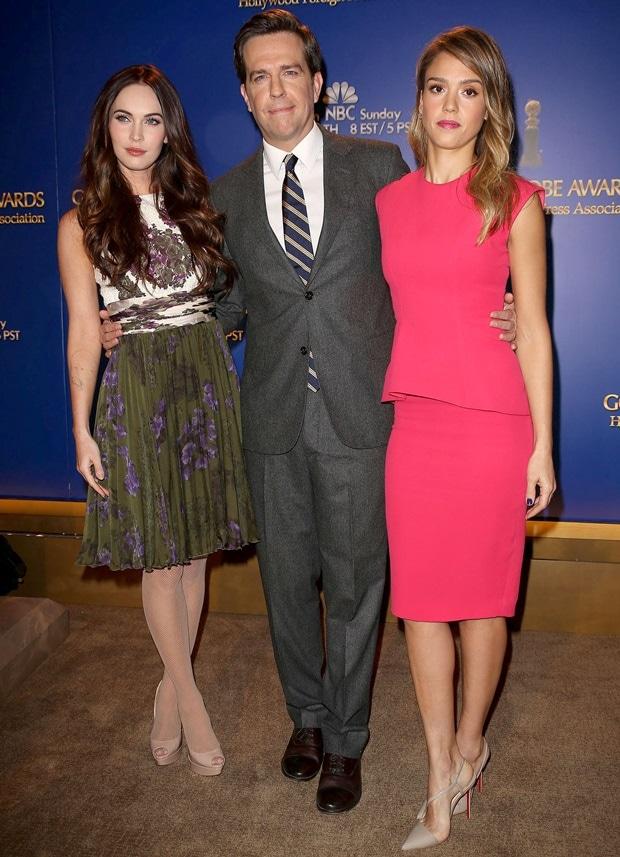Megan Fox, Ed Helms, Jessica Alba