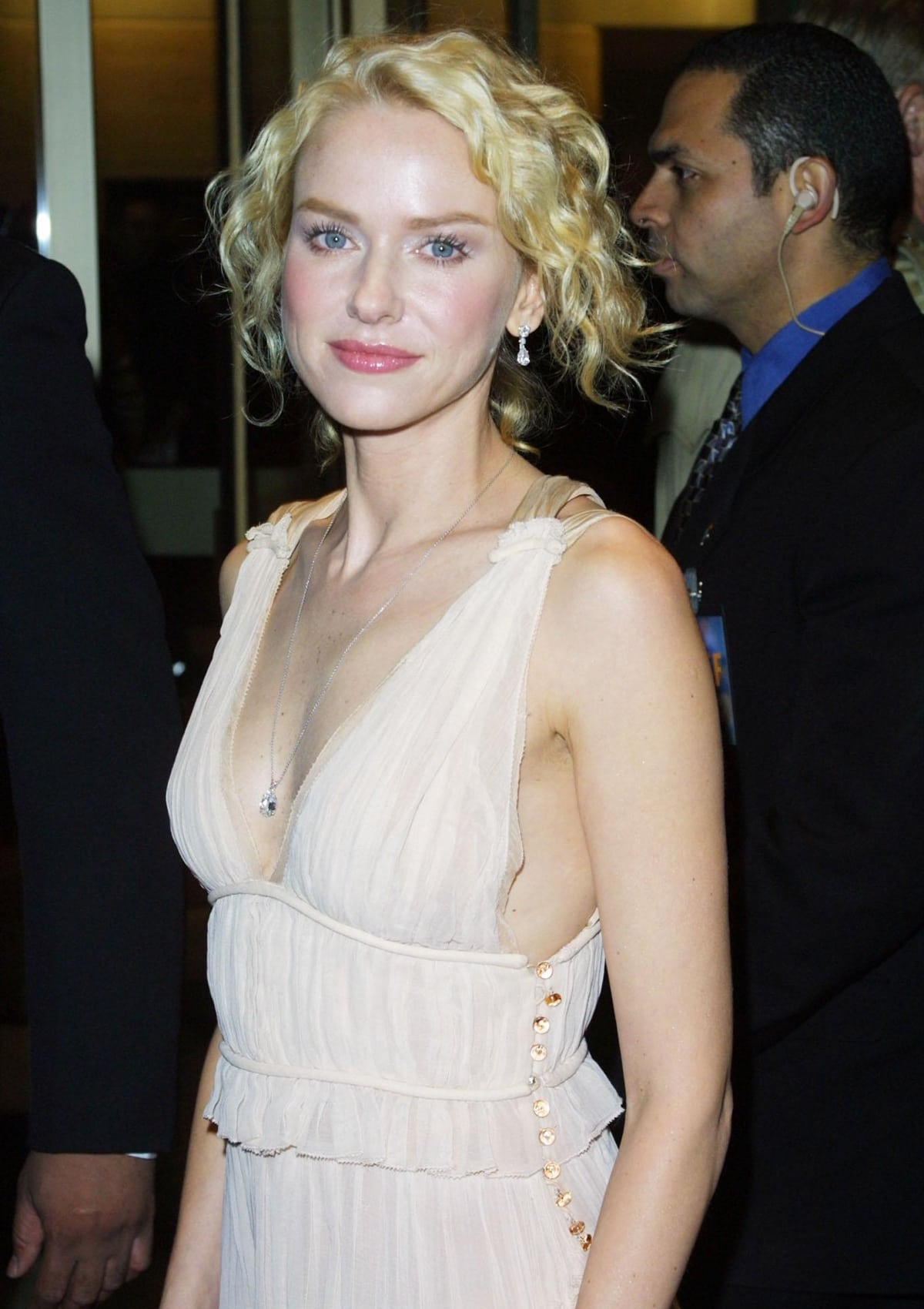 Naomi Watts at the premiere of 21 Grams on the closing night of the New York Film Festival