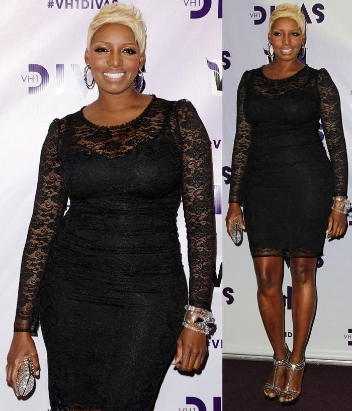 Nene Leakes arrives at 'VH1 Divas' 2012 held at The Shrine Auditorium on December 16, 2012, in Los Angeles, California