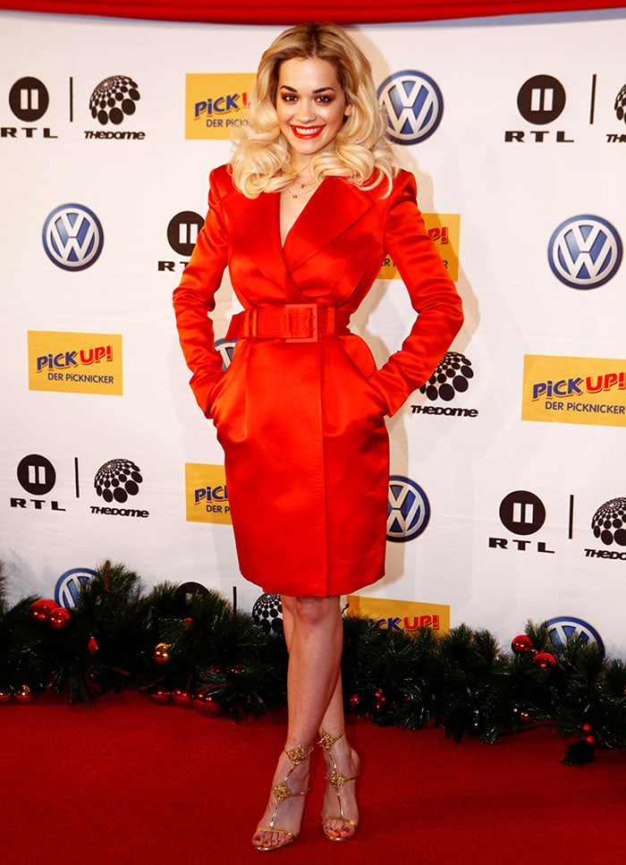 Rita Ora attends The Dome 64 show at Musical Theater