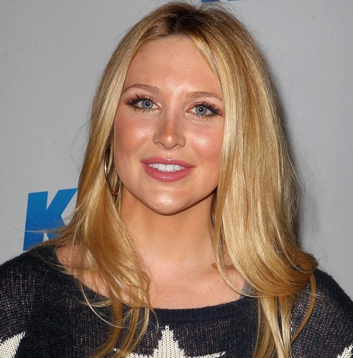 Stephanie Pratt at KIIS FM's 2012 Jingle Ball held at Nokia Theatre L.A. Live in Los Angeles on December 3, 2012